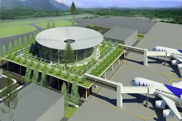 Phối cảnh dự án do Tập đoàn FLC mở rộng sân bay Phù Cát