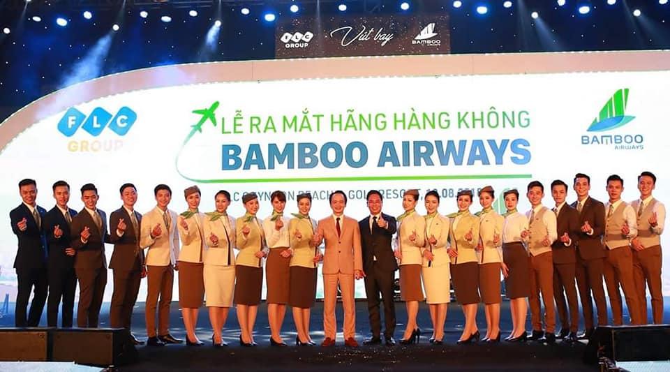 Lễ ra mắt hãng hàng không Bamboo Airways
