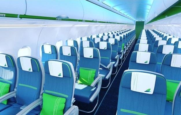 Ghế máy bay A321Neo Bamboo Airways