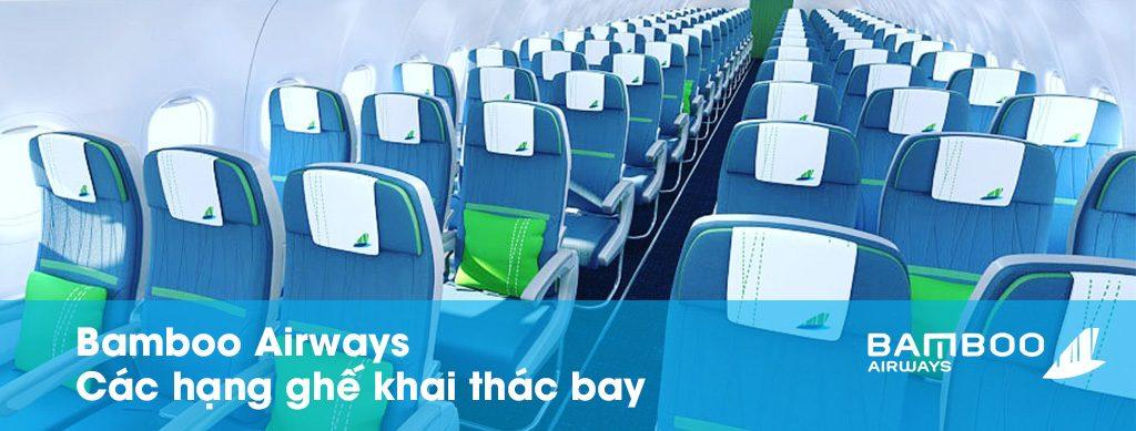 Hạng ghế máy bay Bamboo Airways