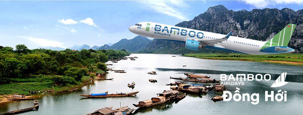 vé bamboo airways đi đồng hới quảng bình