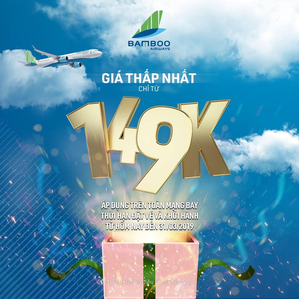 giá vé Bamboo Airways