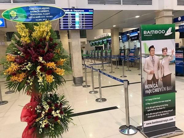 Bamboo Airways bay chuyến đầu tiên 16/1