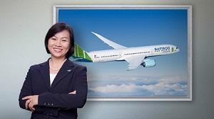 Dương Thị Mai Hoa - Phó chủ tịch Bamboo Airways