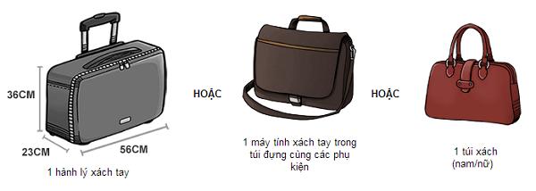 Hành lý xách tay cơ bản
