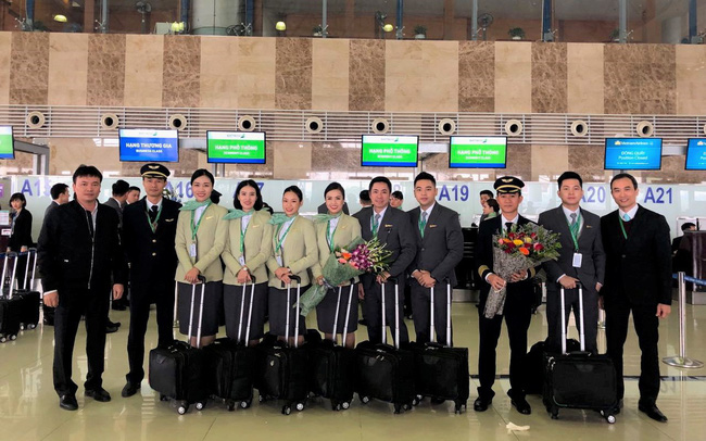 Tổ bay của Bamboo Airways
