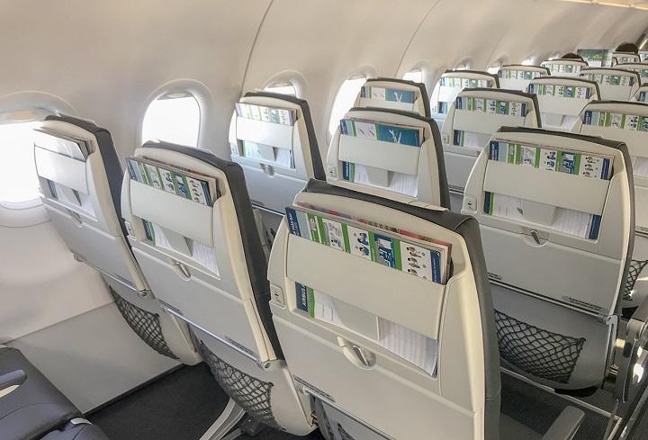 Bên trong máy bay Bamboo Airways