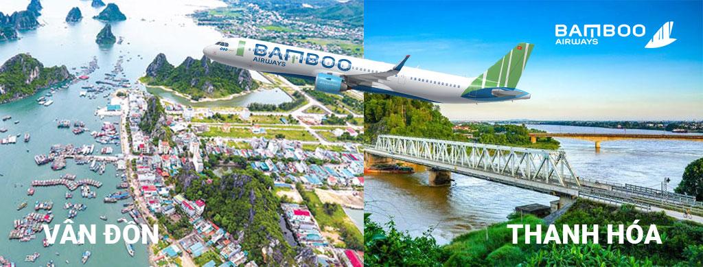 Vé Bamboo Airways đi Thanh Hóa, Vân Đồn