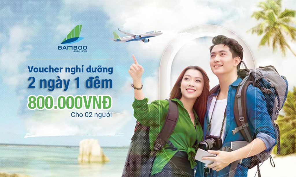voucher bamboo airways flc