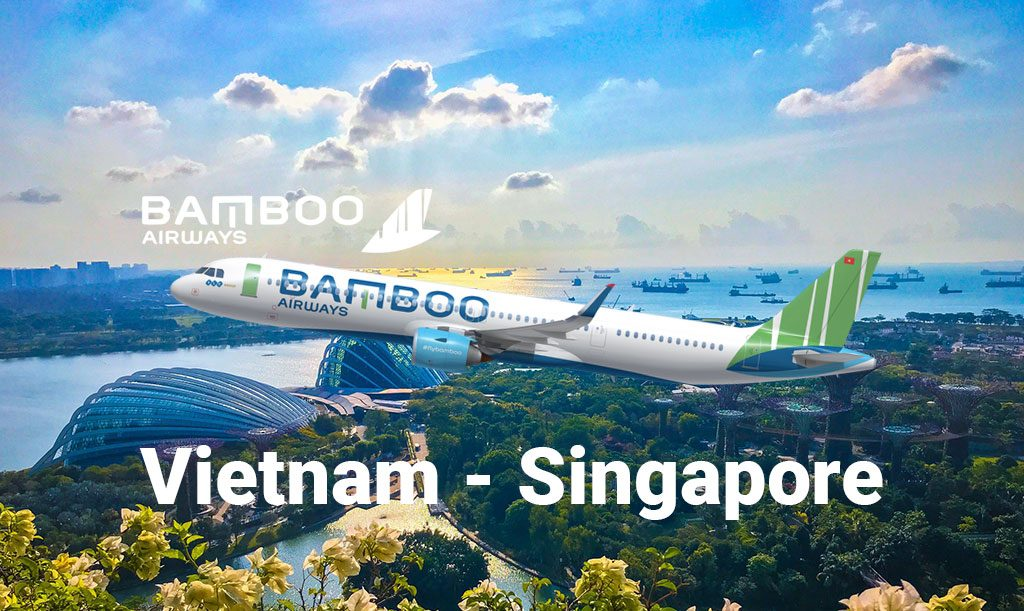 vé máy bau bamboo airways singapore
