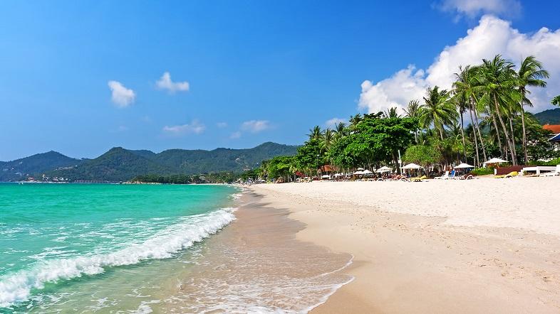 Bãi biển Chaweng, Koh Samui, Thái Lan