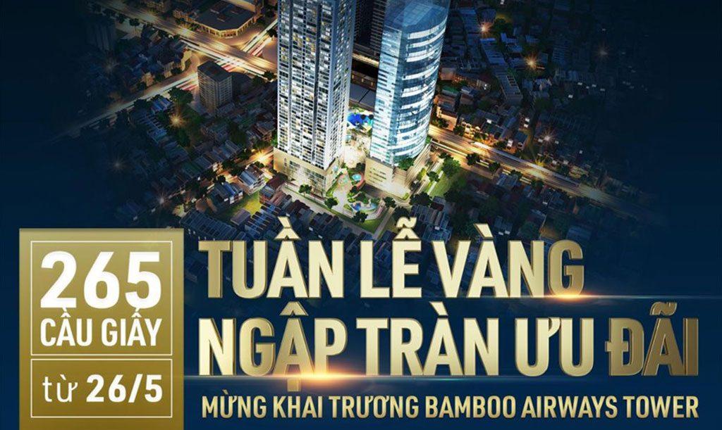 Bamboo Airways tuần lễ vàng