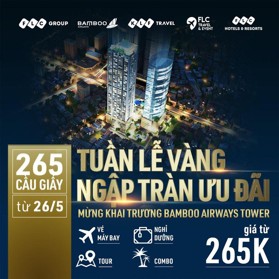 Bamboo Airways - Tuần lễ vàng ngập tràn ưu đãi