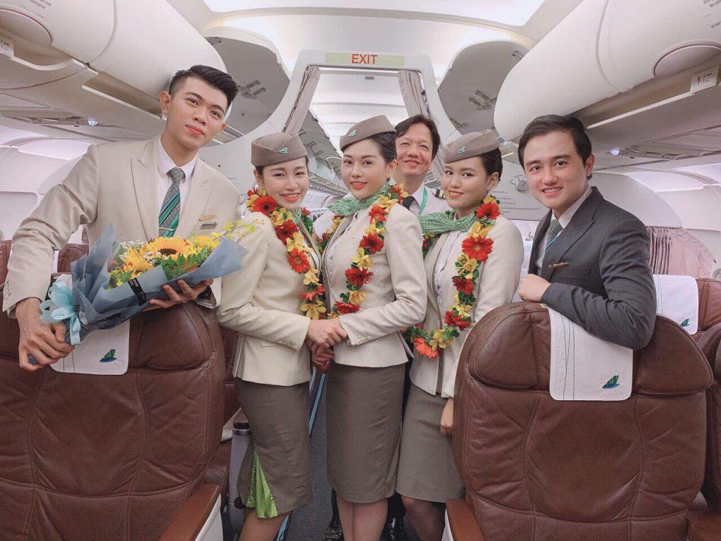 Tiếp viên Bamboo Airways