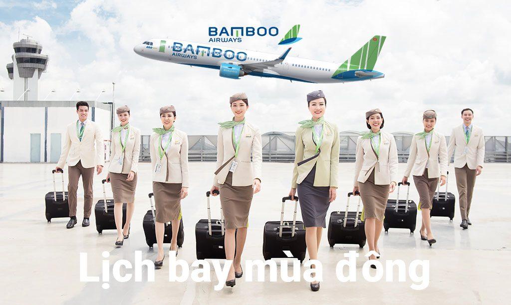 Lịch bay mùa đông của Bamboo Airways