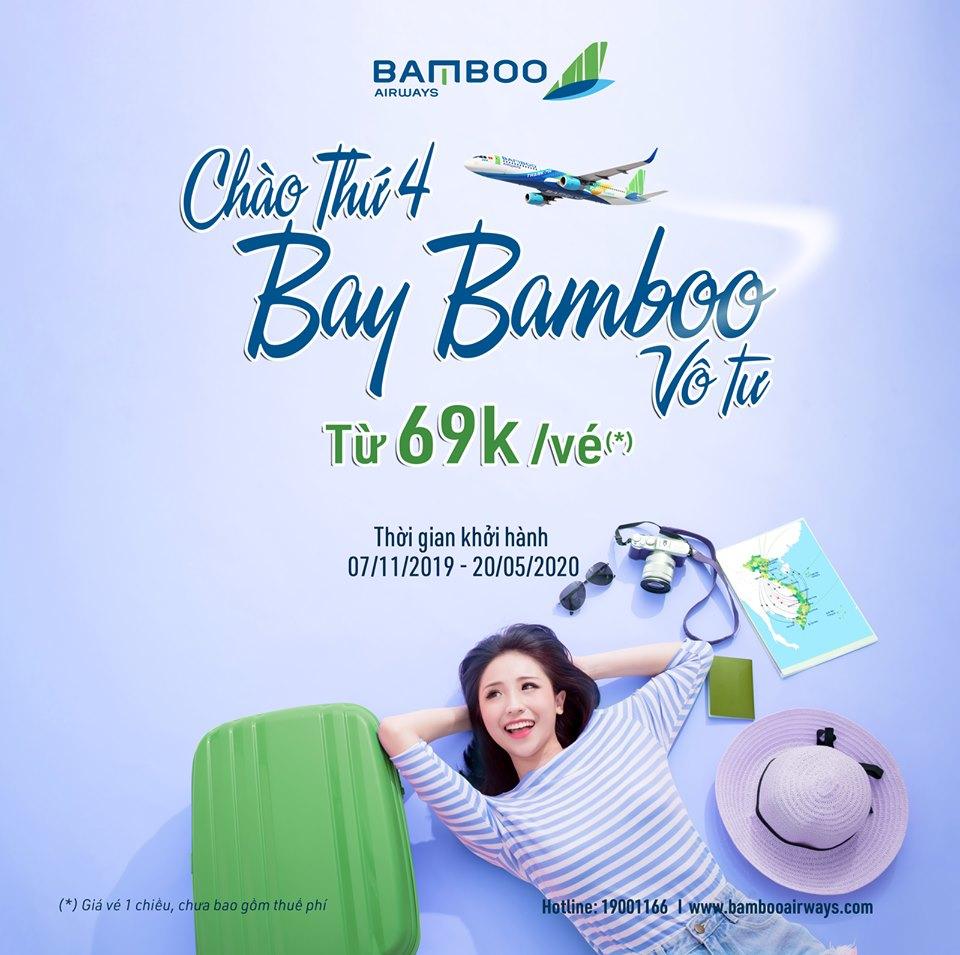Chào thứ 4: Bay Bamboo vô tư