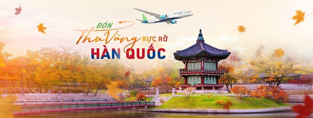 Vé máy bay Bamboo đi Seul